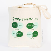Grocery Compromises Tote Bag