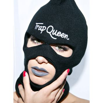 TRAP QUEEN SKI MASK
