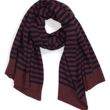 MARC JACOBS Striped Scarf (Women) | Nordstrom