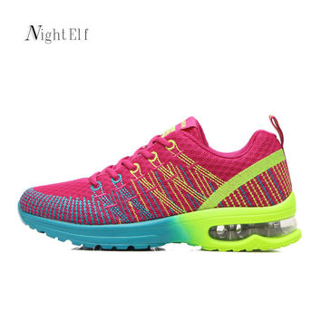Night Elf women running shoes women breathable summer mesh sneakers sport shoes for women 2017 air