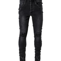 Snap Denim - Black