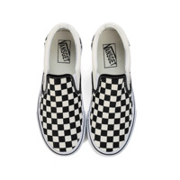 Checkerboard Slip-On Sneaker