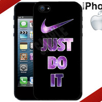 Nike Just Do It Galaxy iPhone 5 Case  iPhone 4 by CrazianDesigns