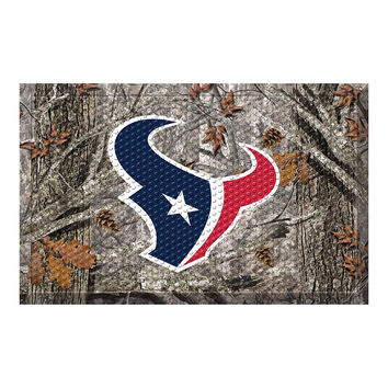 HOUSTON TEXANS SCRAPER DOORMAT (19X30)