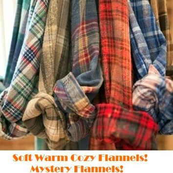 Just for you, Cozy Oversized Warm Buttery Soft Unisex Flannels.