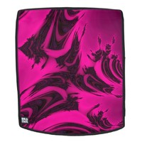 Pink and Black Fractal. Backpack
