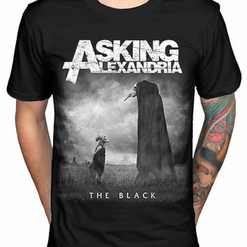 Asking Alexandria The Black Men's T-shirt Black