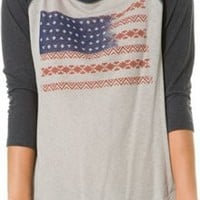 BILLABONG PEACE NATIONS BASEBALL TEE | Swell.com