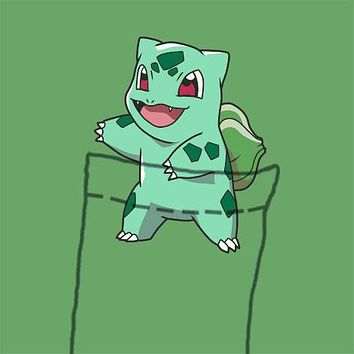 Bulbasaur Pocket Tee