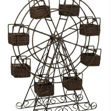 Ferris Wheel Planter - Inside Or Outside Use
