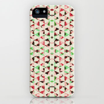 Christmas Shards iPhone & iPod Case by Caleb Troy