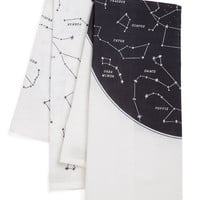 ModCloth Cosmic Celestial Chateau Tea Towel Set