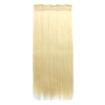 70cm 140g Invisible Hair Extension 5 Cards Wig    86/613#