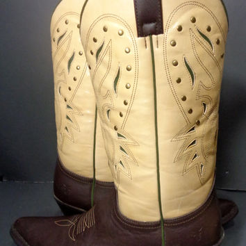 FRYE Cowgirl Cowboy Western Boots Women's Size 9