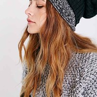 Double Layer Slouch Beanie-