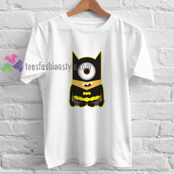 Batman Minion t shirt gift tees unisex adult cool tee shirts