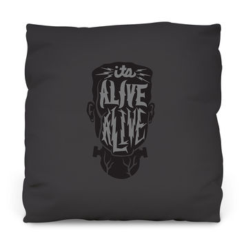 Alive Alive Throw Pillow