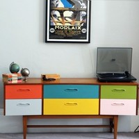 Multi Colour Chest of Drawers  — Magpie Home & Interiors