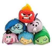 NEW Authentic Disney Store Tsum Tsum - Pixar INSIDE OUT Complete Set of 6 - 2015