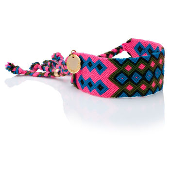 Good vibes - Friendship Wayuu Bracelet 2
