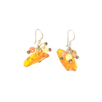 Danika Earrings Amber