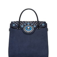 Tory Burch Embellished Carpet Bag