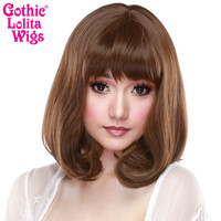Gothic Lolita Wigs® Daily Doll™ Collection - Golden Chestnut Brown Mix -00431