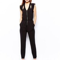 Warehouse Cut Out Jumpsuit
