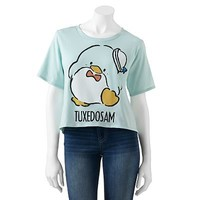 Mighty Fine Tuxedo Sam Hi-Low Tee - Juniors