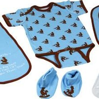 Western Baby Boy 5 Piece Baby Set