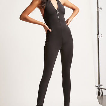 Pull-Ring Jumpsuit