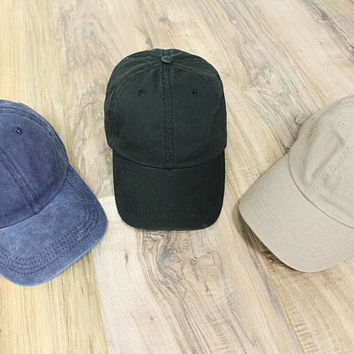 Plain Dad Hats (3 colors)