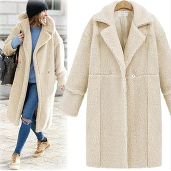 DCCKJ6E Winter Women's Fashion Hot Sale Long Sleeve Coat Jacket [9631627727]