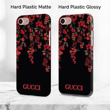 AUGUAU custom made to order gg brand red roses cool iphone and android phone case