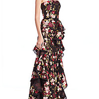 Alexander McQueen - Ruffled Bougainvillea Organza Gown - Saks Fifth Avenue Mobile