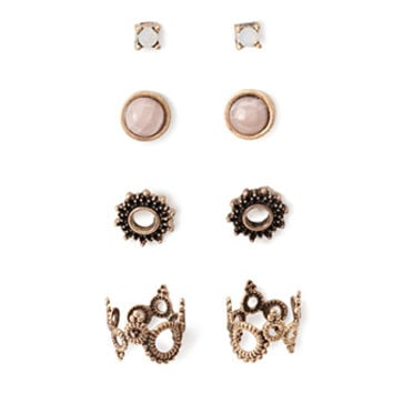 Ear Cuff and Stud Set