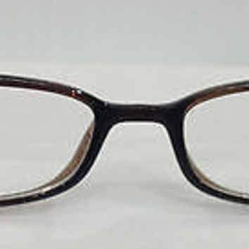 NEW AUTHENTIC SILHOUETTE SPX 1997 COL 6085 BROWN PLASTIC EYEGLASSES FRAME 51MM