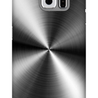 Perfect Stainless Steel Print Galaxy S6 Extra Protective Bumper Case