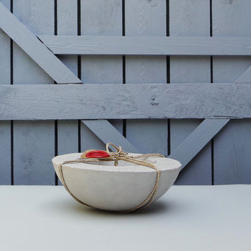 Small Concrete Bowl - Concrete bowl. Concrete planter. Beton. Succulent planter. Succulent bowl