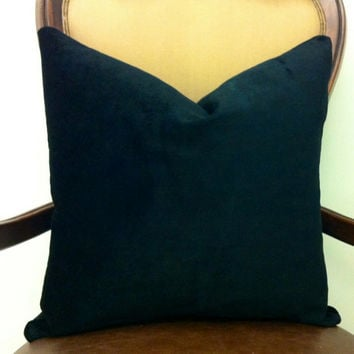 Black Velvet Throw Pillows, Velvet, Black Velvet Pillows, Decorative Velvet Pillow Covers, Velvet Cushion Covers, Black Velvet Throw Pillows