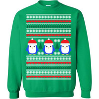 Ugly Christmas Sweater - Penguin Motif