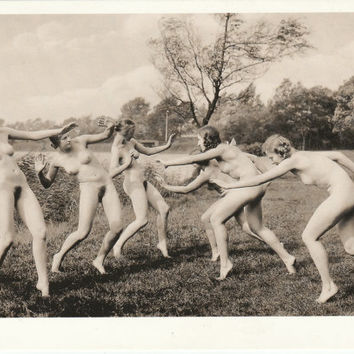 Erotic Naked Photography Vintage Old Postcard Nude Photos Vintage Reproduction from 20s Photog More