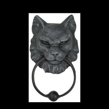 Cat Gargoyle door knocker 7