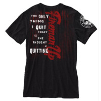 You Gonna Quit? | Firefighter Apparel | Firefighter Clothing I Motivational Tee by Fireman Up | Fireman Up