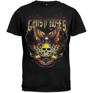 Guns N Roses - Wings 2011 Tour T-Shirt