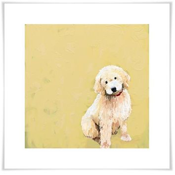 Best Friend - Golden Doodle Wall Art
