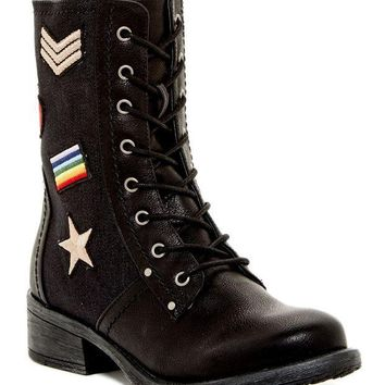 MIA | Nate Patched Combat Boot | Nordstrom Rack