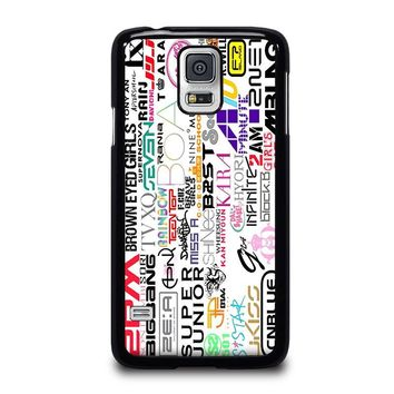 KPOP ALL BAND Samsung Galaxy S5 Case Cover