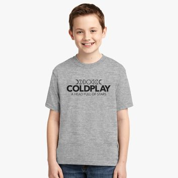Coldplay - Head Full Of Dreams  Youth T-shirt