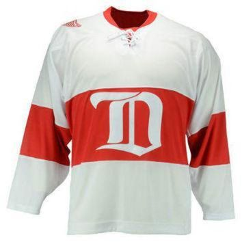 DCCKU3N NHL Reebok Detroit Red Wings Mens Team Classic Jersey